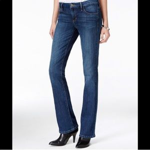 Guess Tailored Mini Boot Jeans Mid Wash.
